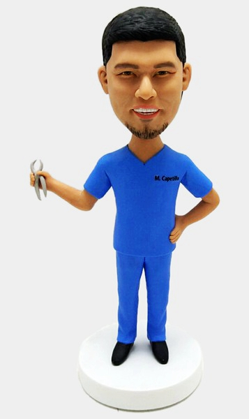 Custom Personalized Bobblehead For Dentist
