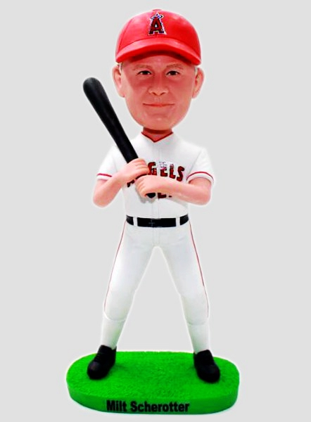 Custom Custom Baseball Bobblehead Los Angeles Angels