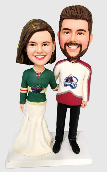 Custom Custom Wedding Bobbleheads Sport Fans