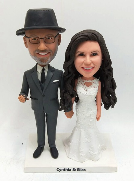 Custom Custom Wedding Bobblehead