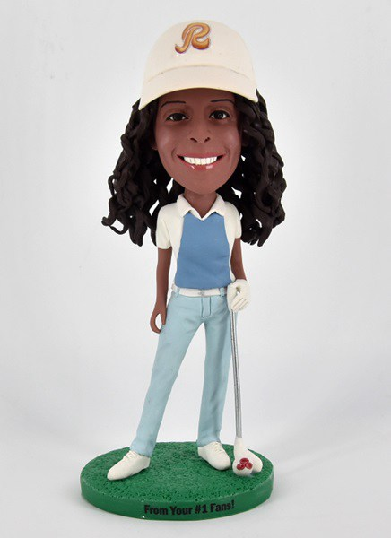 Custom Custom Bobblehead Female Golf