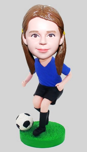Custom Personalised Football Bobblehead Gifts For Kids