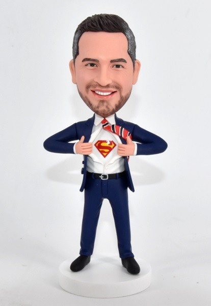 Custom Custom Bobblehead Superman Transform