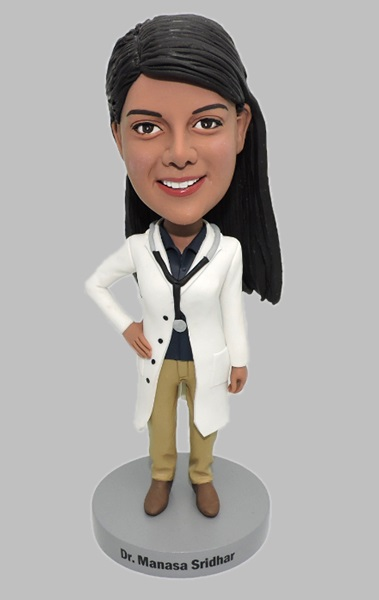 Custom Create Female Doctor Bobblehead