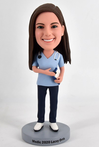 Custom Custom Bobblehead Nurse