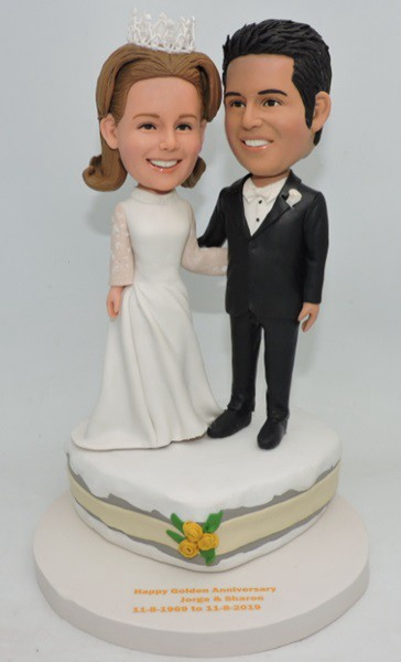Custom Custom Wedding Cake Topper
