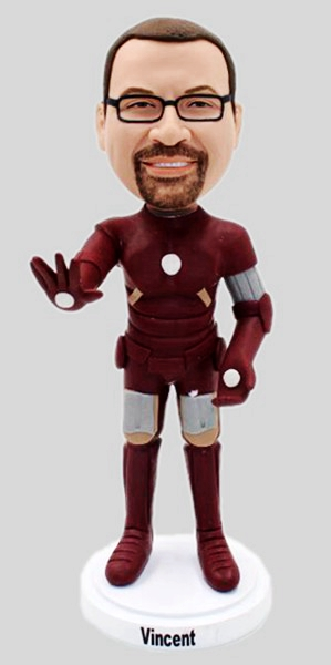 Custom Custom Bobblehead Iron Man