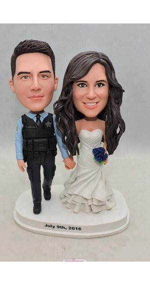 Custom Create your own wedding bobbleheads