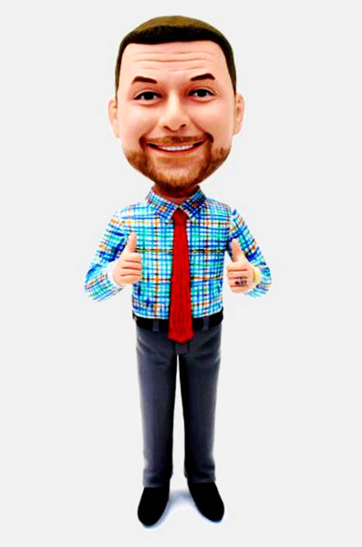 Custom Personalized Bobblehead Gift For Your Boss