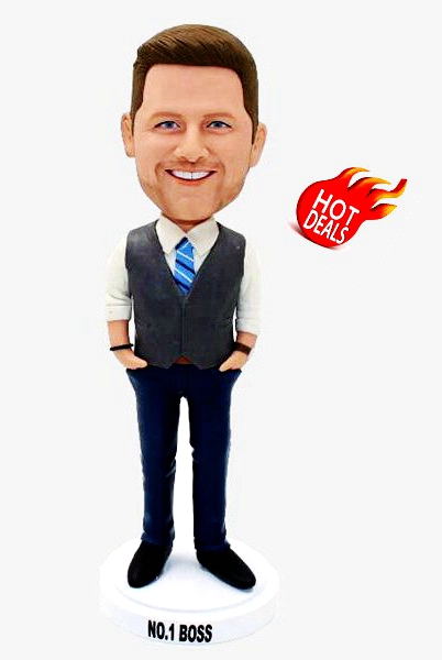 Custom Design the bobblehead for your boss