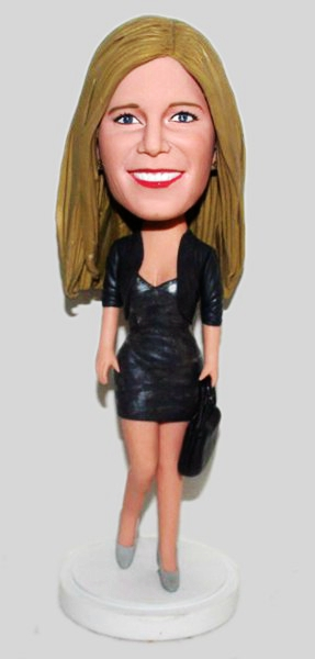 Custom Custom office lady bobbleheads