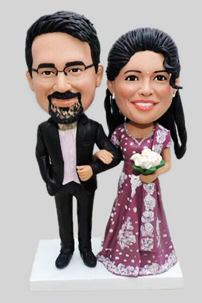 Custom Custom Indian wedding cake topper