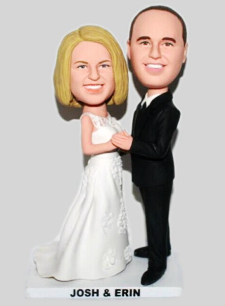 Custom Custom wedding cake toppers BW16