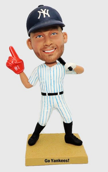Custom Personalized Foam Finger Baseball Player Bobbleheads