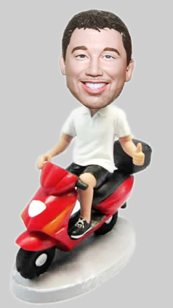 Custom Custom Motorcycle bobblehead