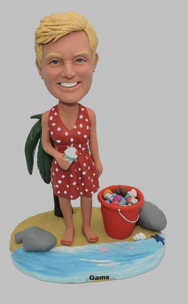 Custom Custom your sea beach bobbleheads