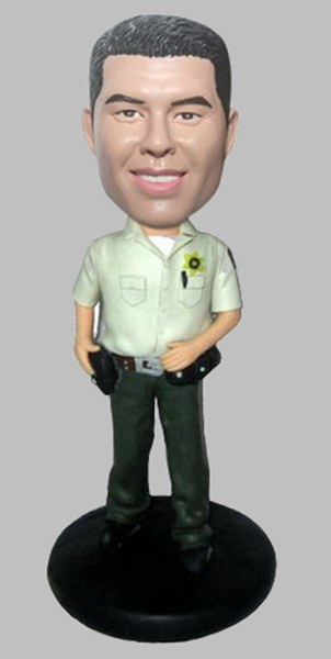 Custom Create Police bobbleheads