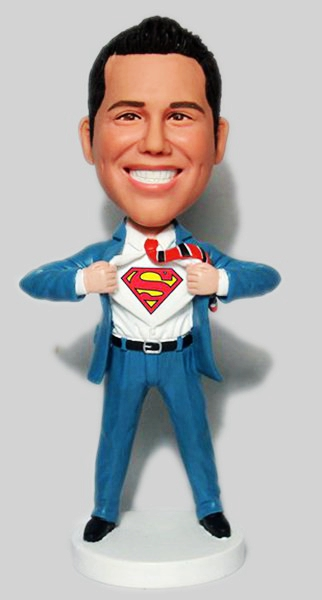 Custom Custom Superman bobbleheads