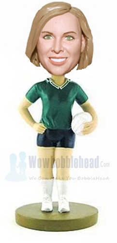 Custom Custom volleyball bobbleheads