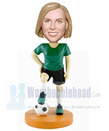 Custom Custom football bobblehead