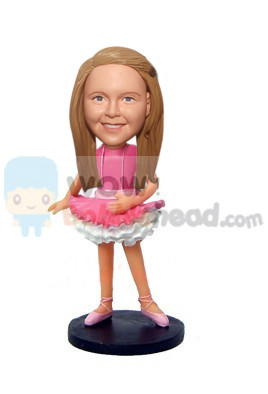 Custom Ballerina Kid Custom Bobblehead