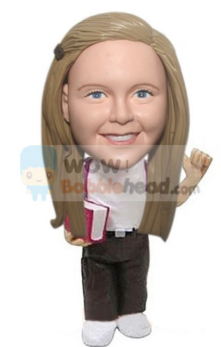 Custom School girl or boy bobblehead