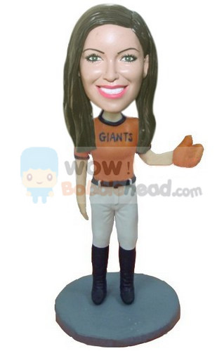 Custom Custom San Francisco Giants Baseball bobblehead