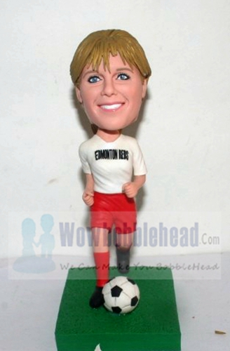 Custom Custom football player bobbleheads