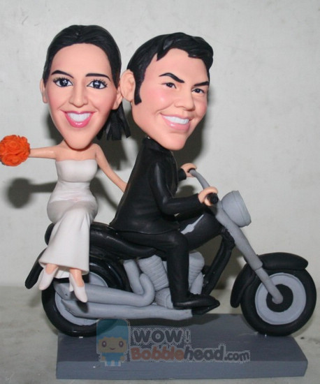 Custom Custom Motorcycle Cake topper