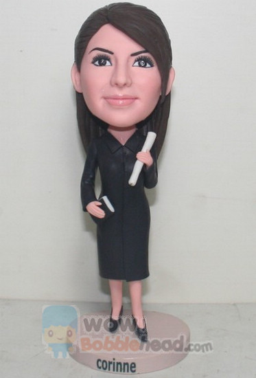 Custom Female Teacher bobblehead