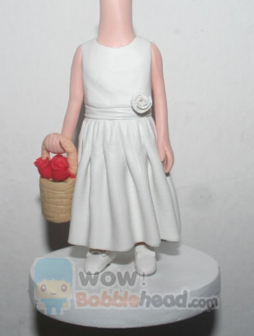 Custom Flower girl bobblehead 18