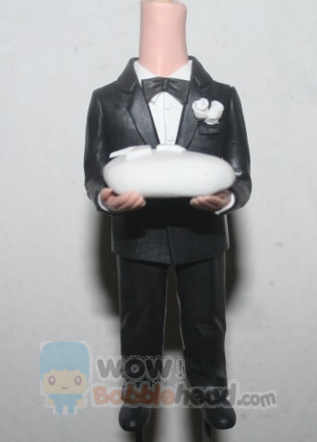 Custom Ring bearer bobbleheads 22