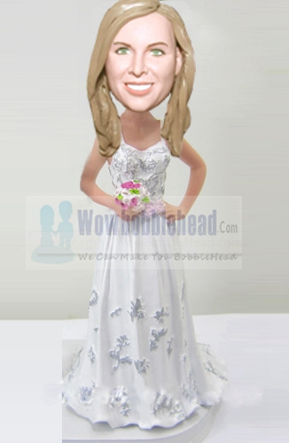 Custom Bridesmaid bobblehead 45