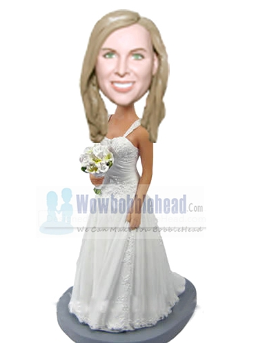 Custom Bridesmaid bobblehead 47