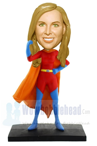 Custom Custom Super Woman bobblehead