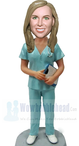 Custom Hospital Female Nurse bobblehead