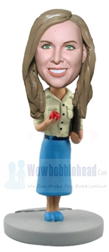 Custom Female School teacher bobblehead