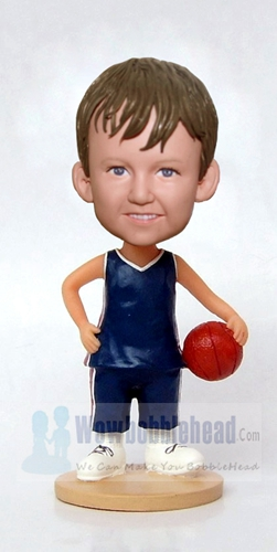 Custom Basketball Little Player bobblehead