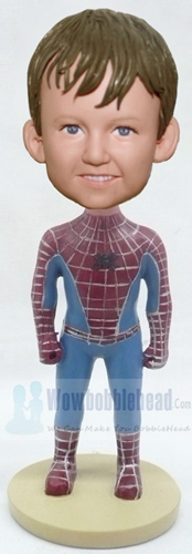 Custom Spider Boy bobblehead