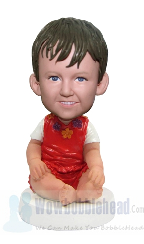 Custom Little Baby Boy bobblehead