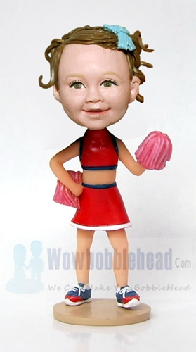 Custom Girl Cheerleader bobblehead