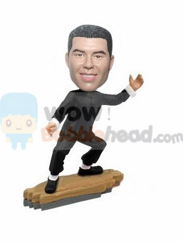 Custom Kungfu player bobblehead