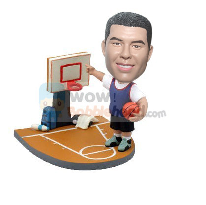 Custom Custom basketball player bobbleheads