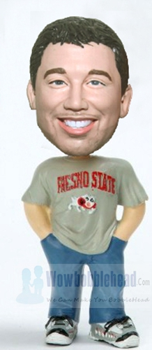 Custom The Chill Dube bobblehead