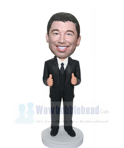 Custom Two thumbs up man bobbleheads
