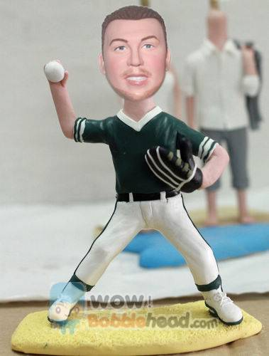 Custom Baseball player custom bobbleheads