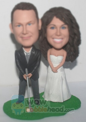 Custom Custom Golf Cake Toppers