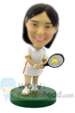 Custom Custom Tennis Player Bobblehead