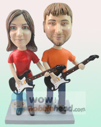Custom Guitar Player Anniversary Bobblehead