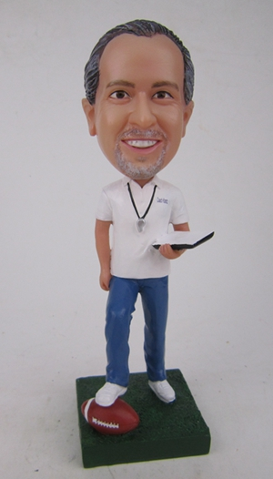 Custom Custom rugby coach doll gift for coach